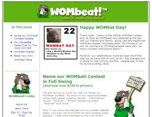 WOMbeat! Newsletter - by Two Cups Connect